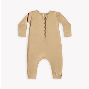 QUINCY MAE Longsleeve Jumpsuit - Honey